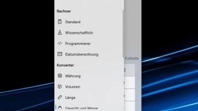 Photo of Windows 10 Taschenrechner Konverter