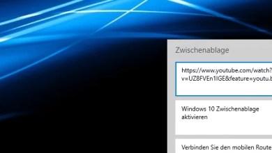 Photo of Windows 10 Zwischenablage aktivieren