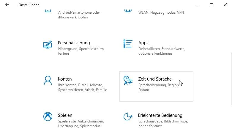 Zeitzone ändern bei Windows 10 – So geht's 0