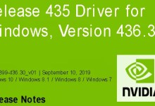 Photo of Nvidia-GeForce-Treiber Version 436.30 für Windows erschienen