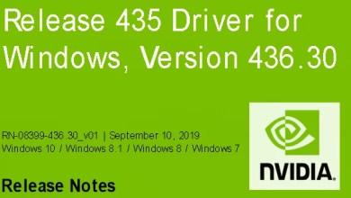 Photo of Nvidia-GeForce-Treiber Version 436.30 für Windows erschienen