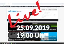 Photo of WindowsPowerDe Live Termin am 25.09 um 19:00
