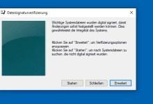 Photo of Unsignierte Treiber unter Windows 10 finden – So geht's