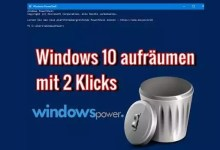 Photo of Windows 10 mit nur 2 Klicks Festplatte aufräumen