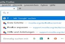 Photo of Firefox 78 – Suchmaschinenauswahl in der Adressleiste ausblenden