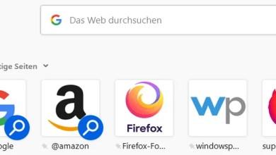 Photo of Firefox – Neuer Tab Seite die Kacheln größer