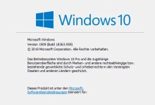 Photo of Build-Nummer herausfinden bei Windows 10 – so geht's