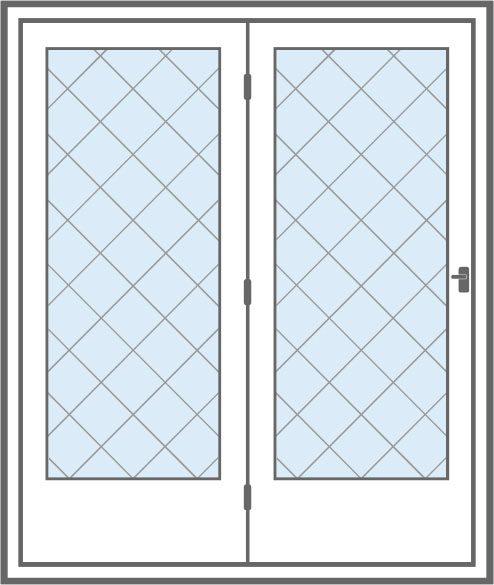 hinged patio doors window world