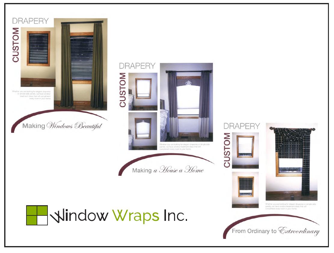 Custom D Ry Window Wraps