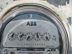The traditional electric meter tells how much a house or company uses each month. But, whose data is that?