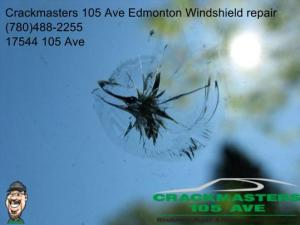 Edmonton Windshield crack repair