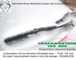 Edmonton Windshield Crack repair