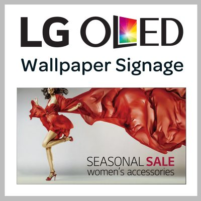 OLED-Wallpaper-Signage