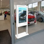 Freestanding Ultra High Brightness Digital Posters – Application Image (2)