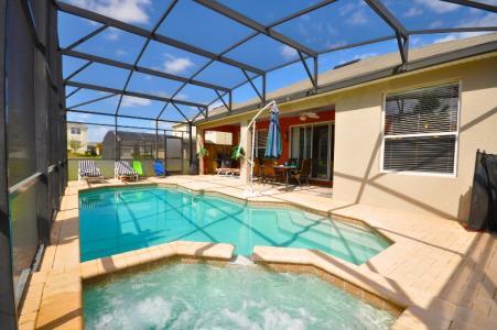 Orlando Villas Private Swimming Pool Jacuzzi Patio Plunge Pool Heat