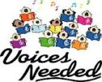 voices needed