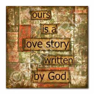 Ours is a love story