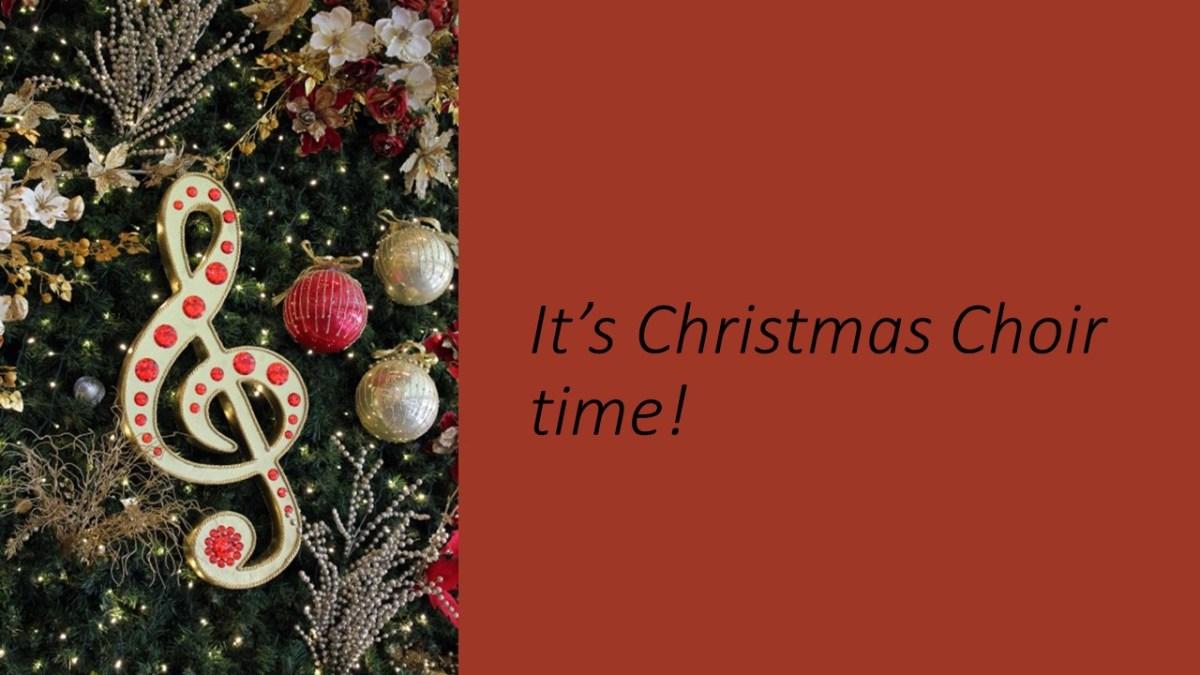 Christmas Choir.Christmas Choir Starts Thursday November 16 Windsor Park