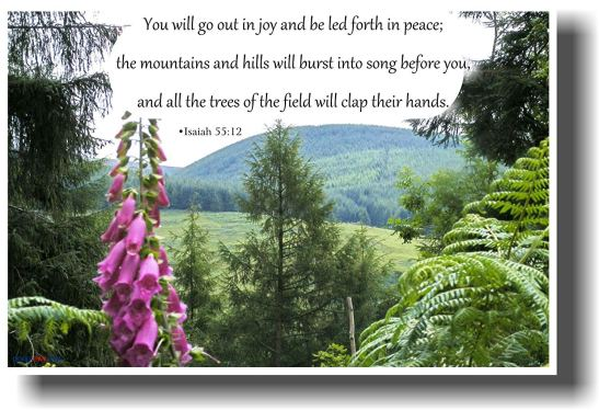 Isaiah 55 12