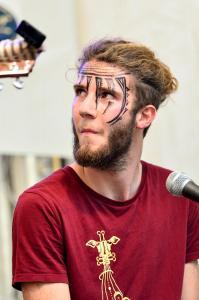 Paddy auf dem Campusfest der HNEE 2016