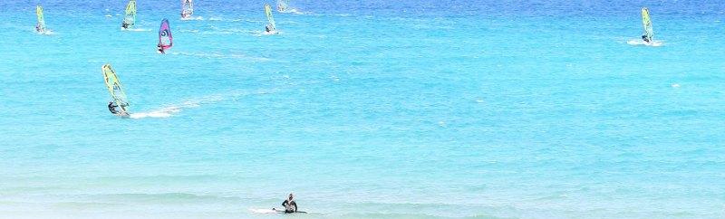 Виндсерфинг на острове Фуэртовентура