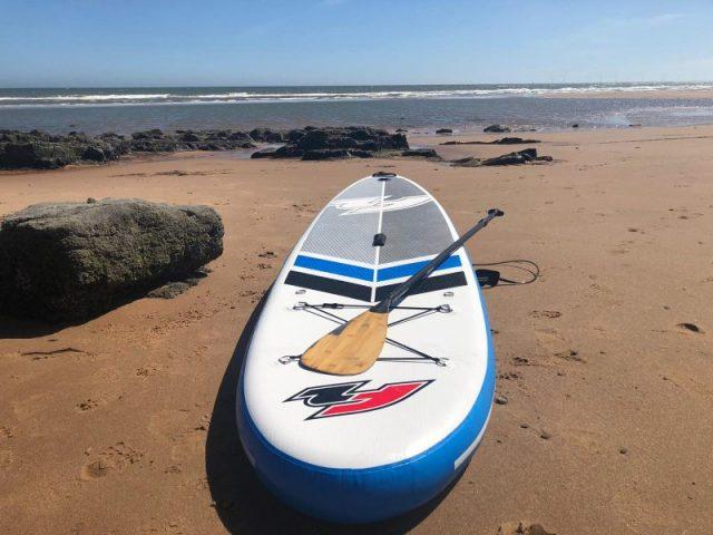 SUP Board on a beach