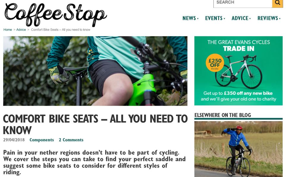 Evans Cycles Product Review Articles