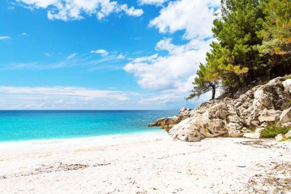 Mirtiotissa Beach - Corfu, Greece nude beach