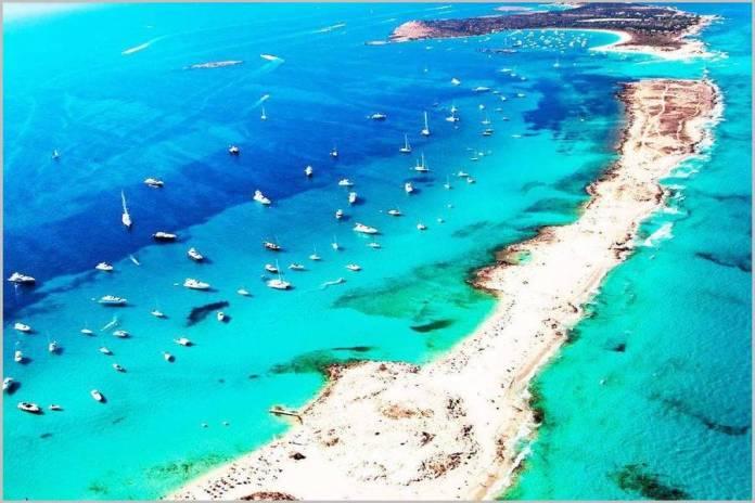 L'ile de Formentera aux Baleares