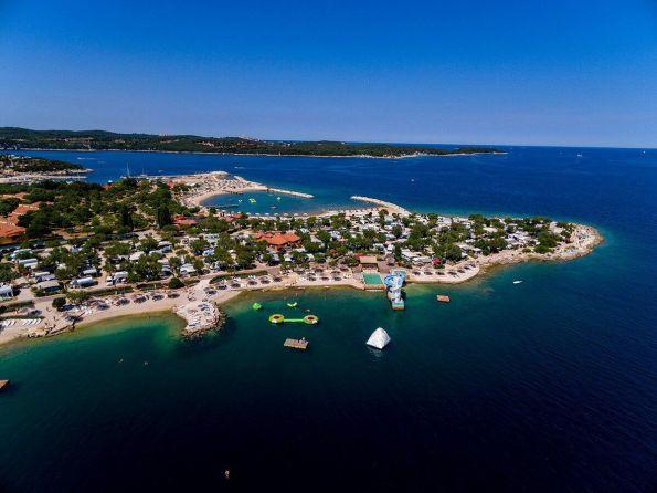 Valalta Rovinj, Croatia nude beach