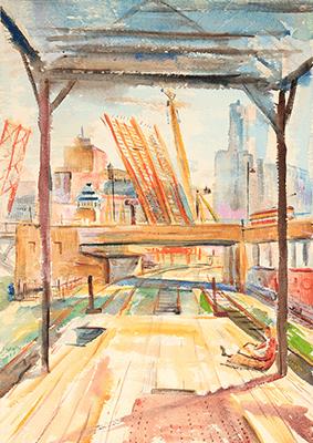 David Landis Art - WPA Watercolor