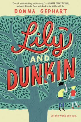 Lily and Dunkin front cover