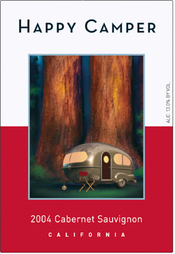 Image result for happy camper wine