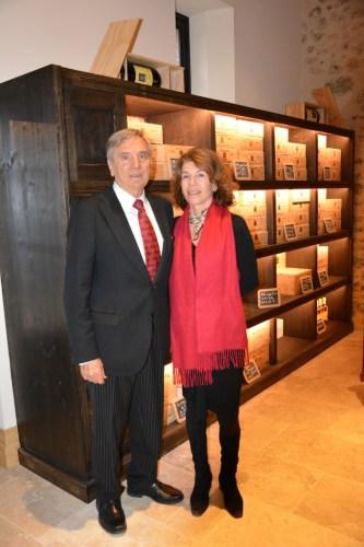 Florence and Daniel Cathiard