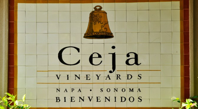 Dinner at Ceja Vineyards in Carneros with Family and Friends