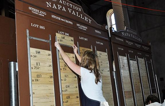 Barrel Auction Napa Valley 2014