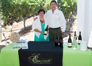 Enrique Lopez & Rosaura Segura, Encanto Vineyards.