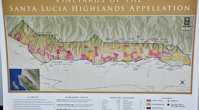 9th Santa Lucia Highlands Gala tasting