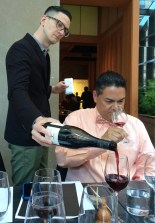 Discover Beaujolais at Pabu Restaurant, San Francisco. (Julie Santiago)