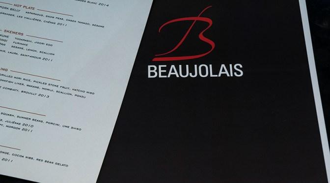 Beaujolais and Japanese food experience