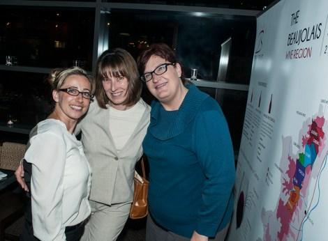 Marie Christina Batich, Deborah Parker Wong and Thea Dwelle