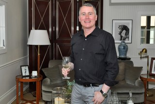 Bob Binder, co-owner of Silver Trident Winery, at the recent opening the their new concept Tasting Home in Yountville, Napa Valley. (Edgar Solis)