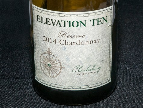 2014 Elevation Ten Reserve Chardonnay