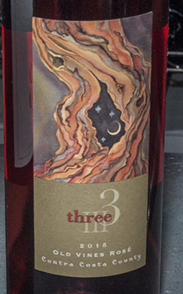 2015 Three Wine Company Old Vines Rosé