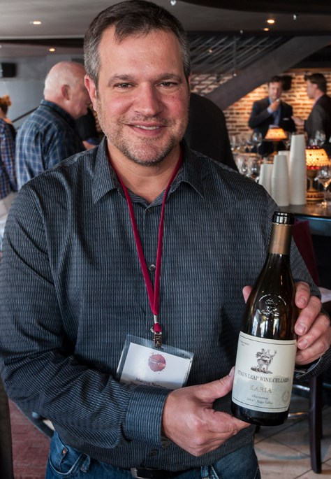 Marcus Notaro, Winemaker for Stag's Leap Wine Cellars