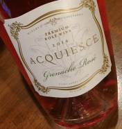 Acquiesce Grenache Rose