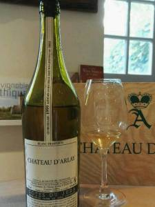 Blanc Tradition 1999. Chateau d'Arlay, Jura, France. July 2016.