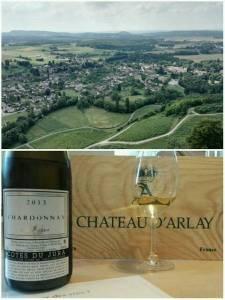 Chardonnay A la Reine 2013. Chateau d'Arlay, Jura, France. July 2016.