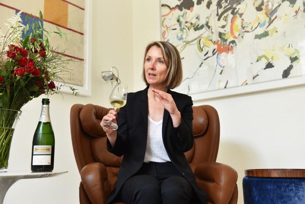 Séverine Frerson, cellar master of Champagne Piper-Heidsieck.