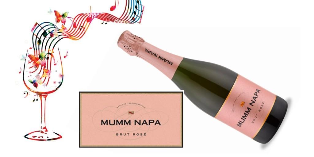 Mumm Napa Brut Rose NV   91WE